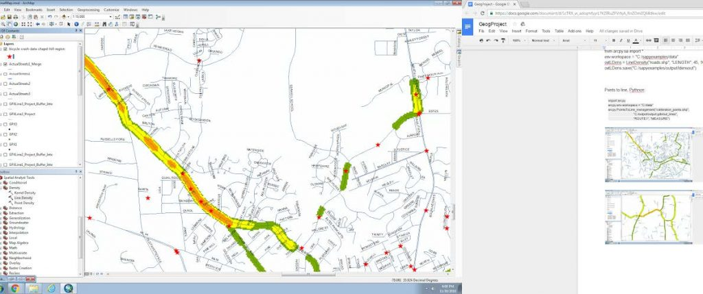 how to make a heat map in arcmap